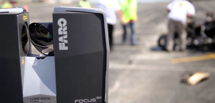 Roanoke Police is using FARO technology to 3D Scan Crime Scenes