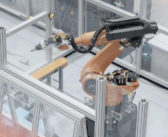 Microfactories to produce electric vans using robots